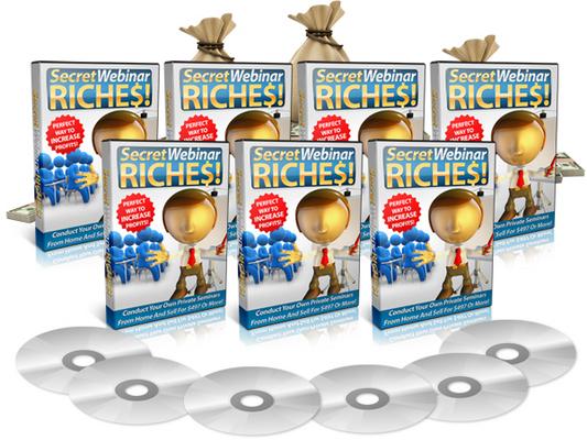Product picture Secret Webinar Riches (MRR)