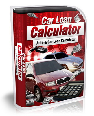 Product picture Car Loan Calculator (mrr)